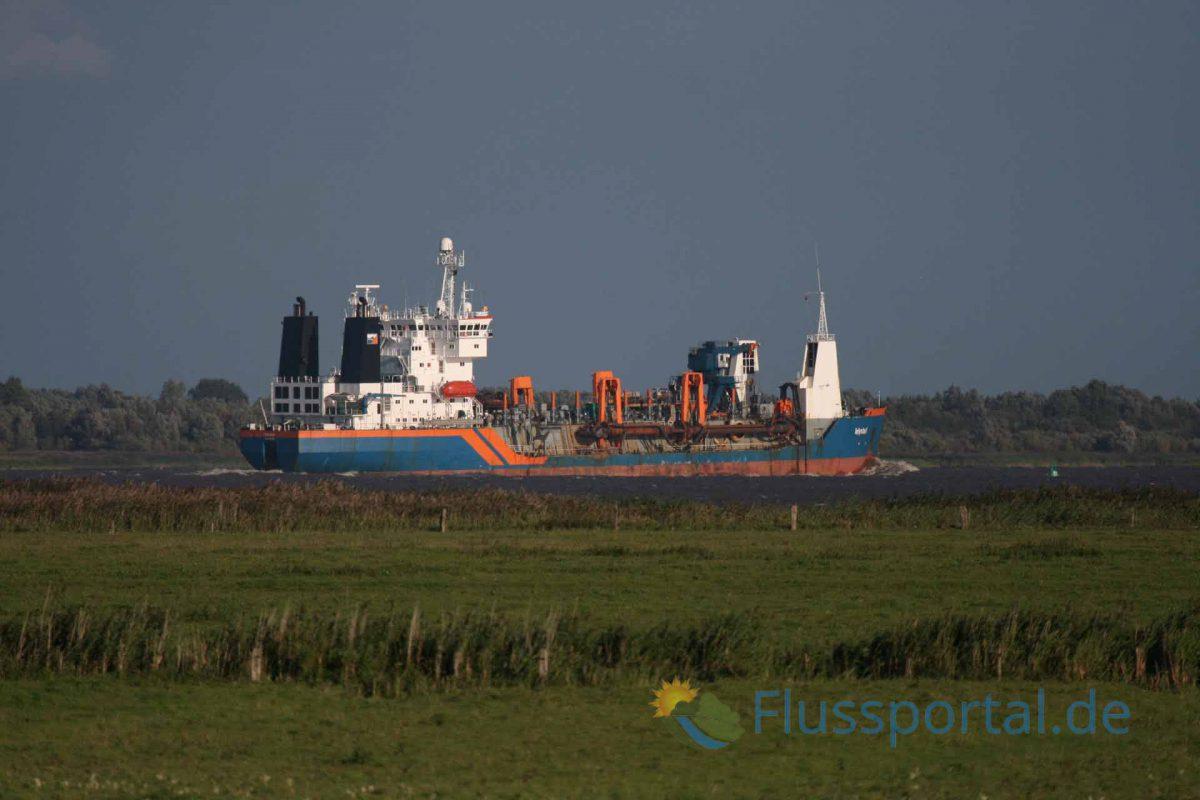 "Das sogenannte Tidal pumping zwingt den Hafen zur ""Kreislaufbaggerei"""