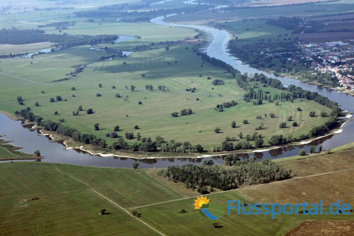4. Die Elbe verlässt das das Tiefland, denn der Fläming zwingt sie in ein neues Urstromtal