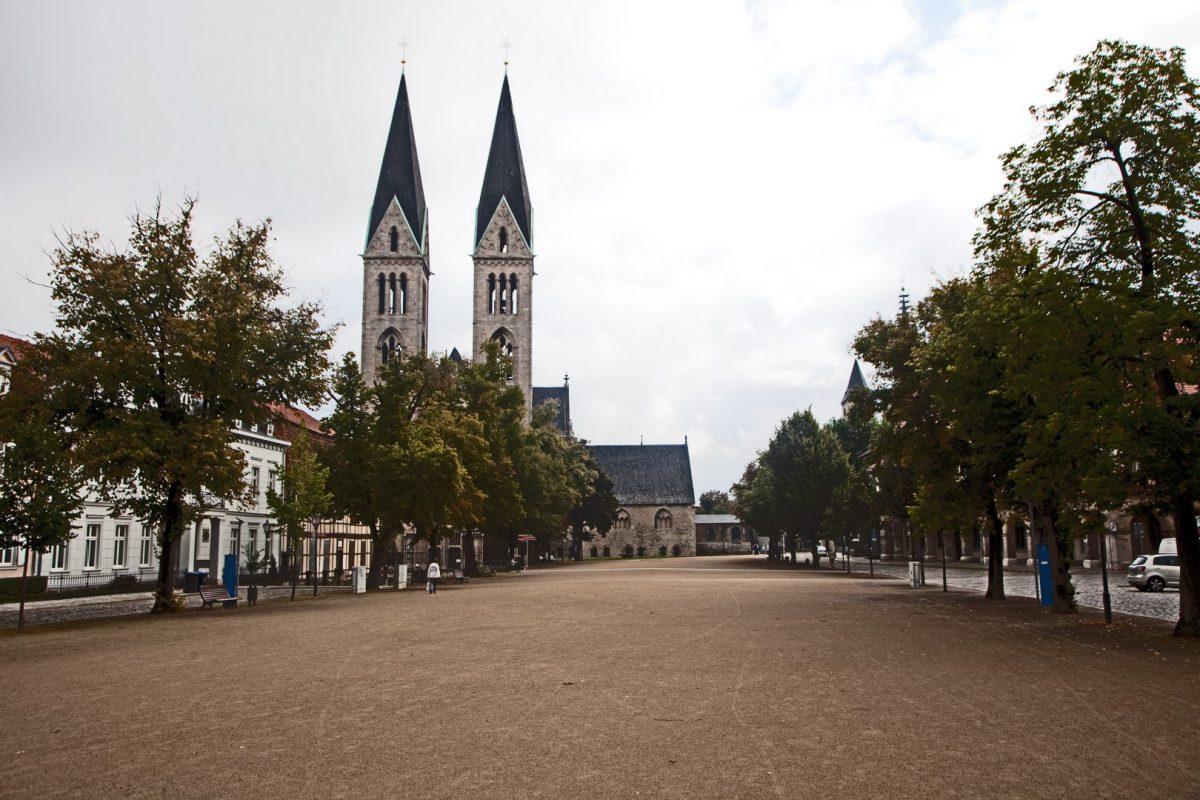 Der gotische Dom zu Halberstadt