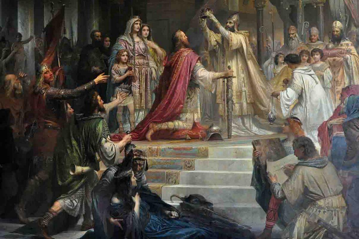 Die Kaiserkrönung Karls des Großen