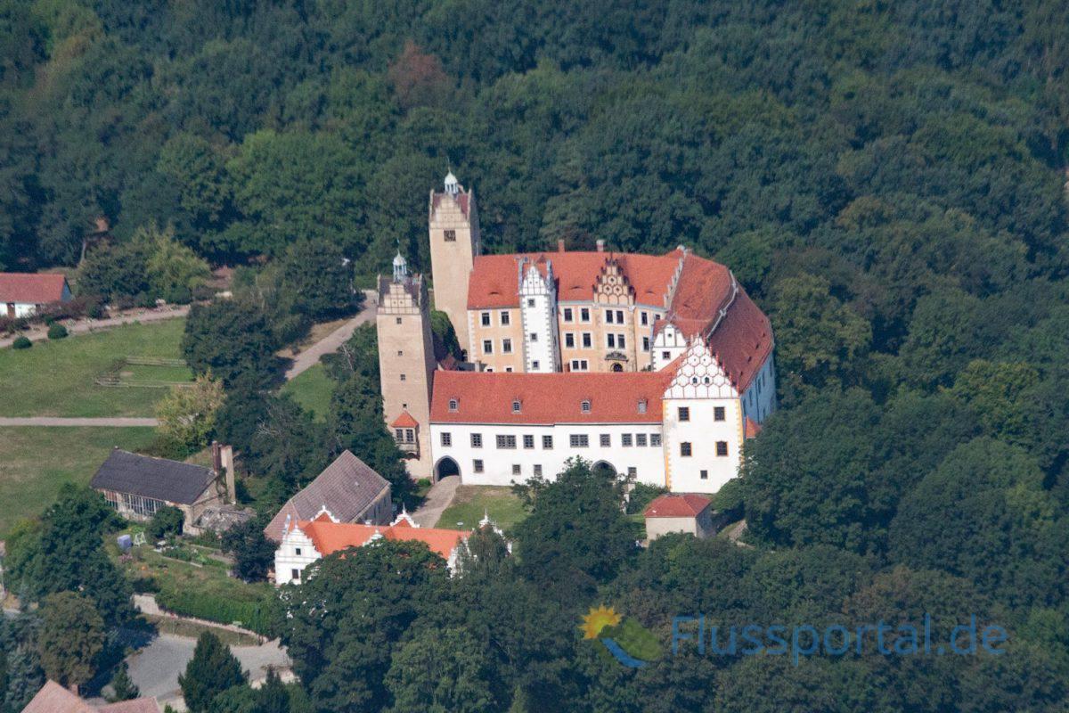 Pretzsch Witwensitz der Gemahlin August des Starken, Christiane Eberhardine von Brandenburg-Bayreuth