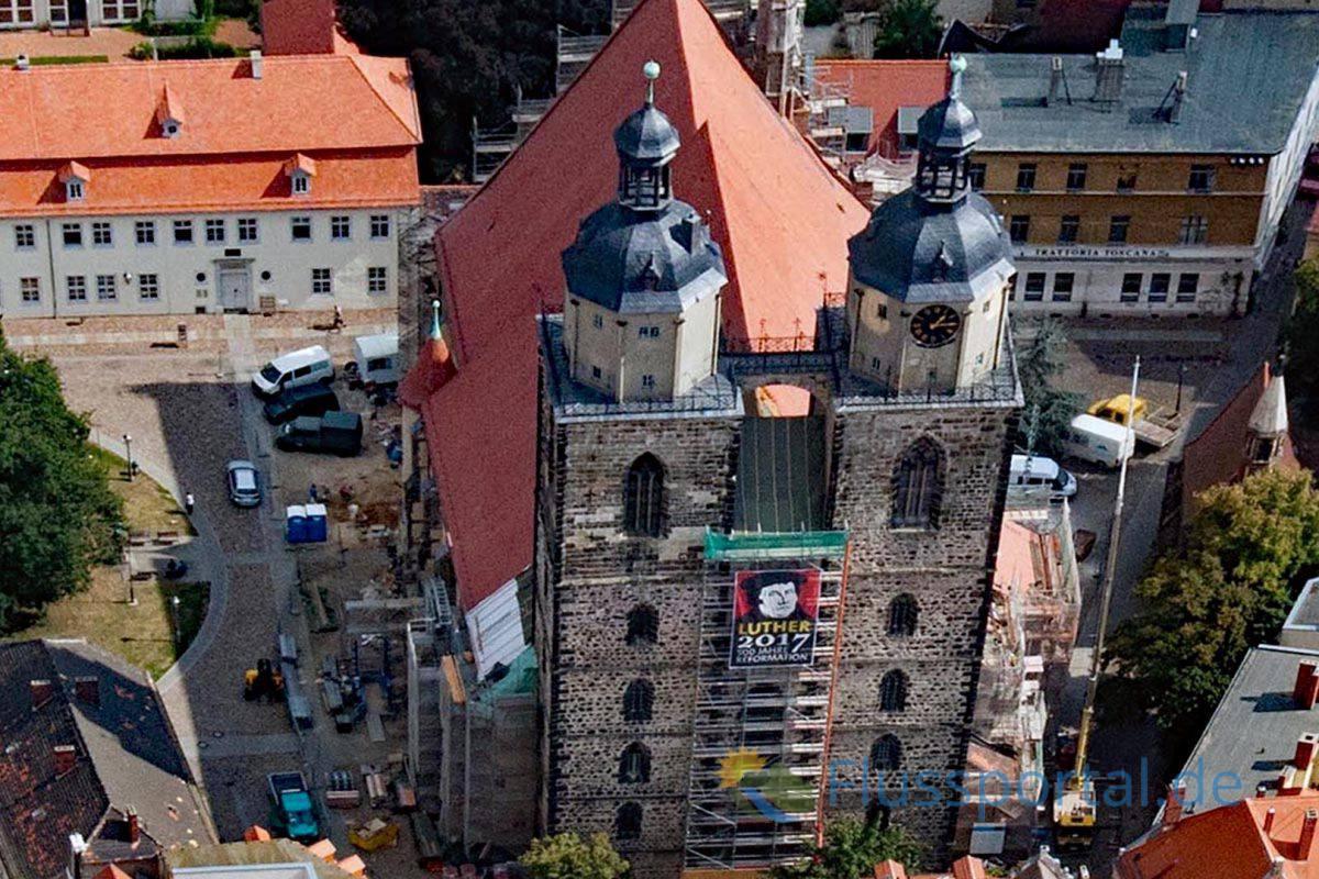Während des Bildersturms im Jahre 1522 wurde fast die gesamte Inneneinrichtung der Stadtkirche St. Marien demoliert oder sogar entfernt worden.