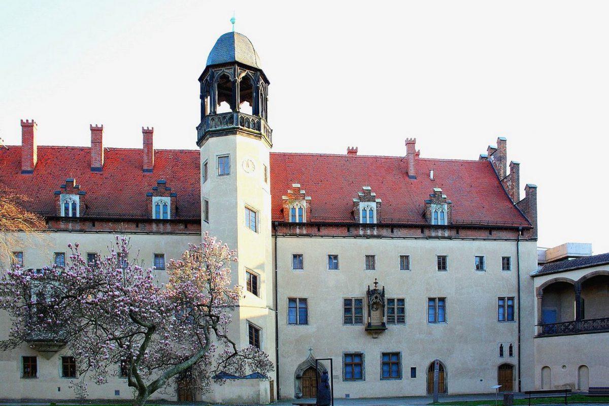 Das Augusteum, in dem Luther und später auch seine Frau Katharina von Bora lebten