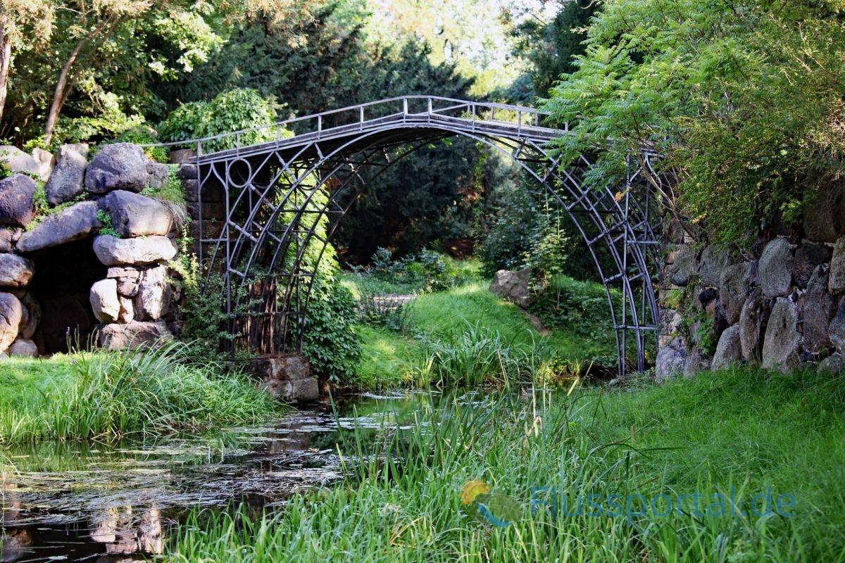Die markanteste Brücke Brücke über den Georgskanal wurde erst 1791 fertiggestellt
