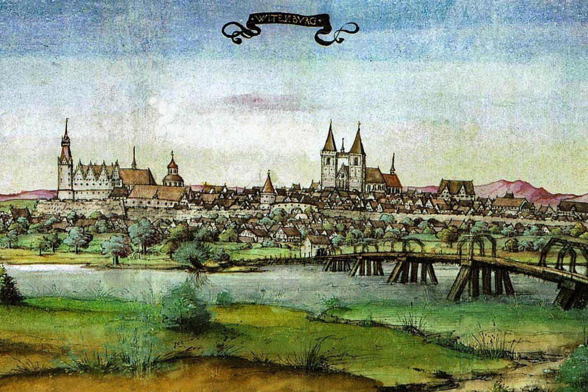 Die Universität in der Wittenberger Provinz, eine Gründung Friedrichs des Weisen