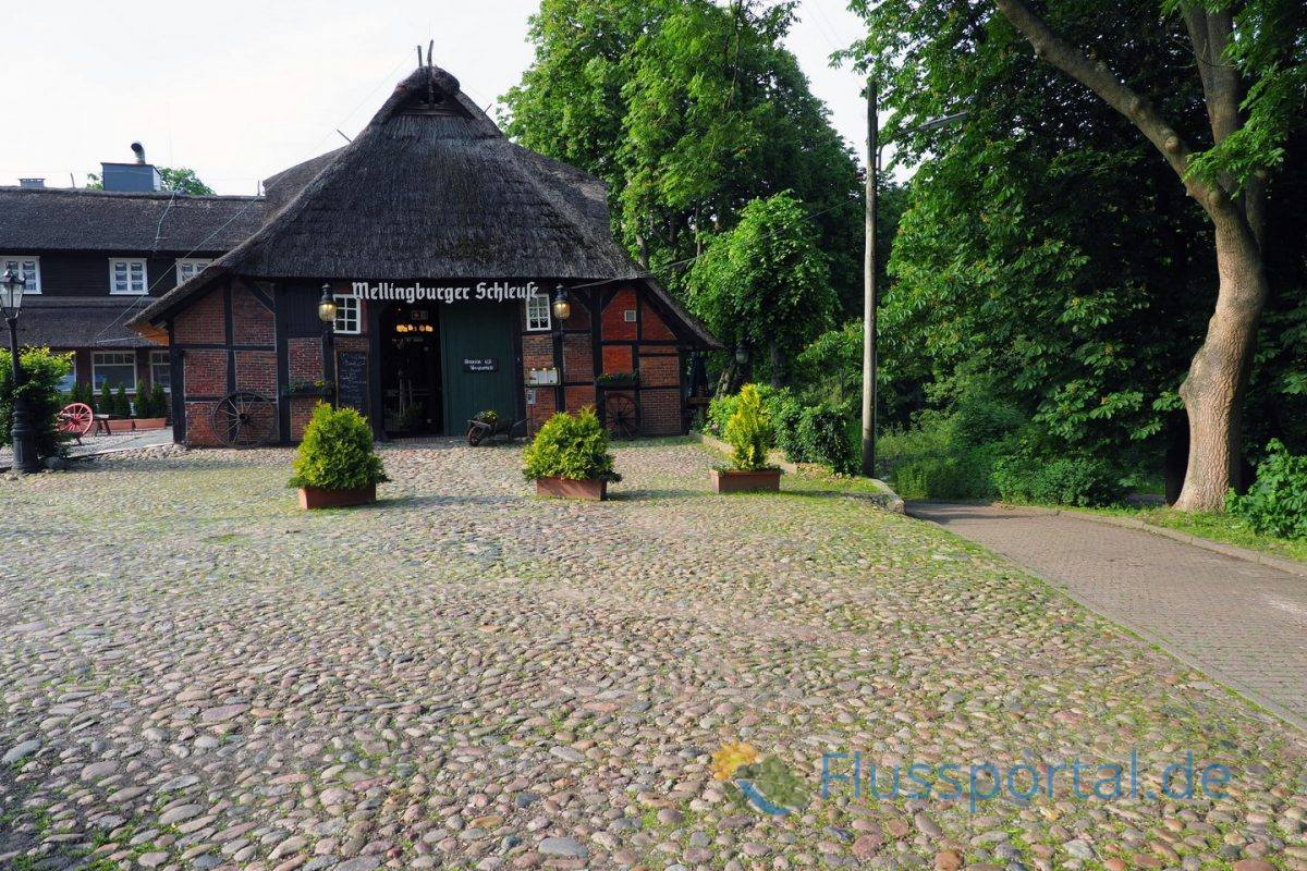 Schleusenmeisterhaus der Mellingburger Schleuse