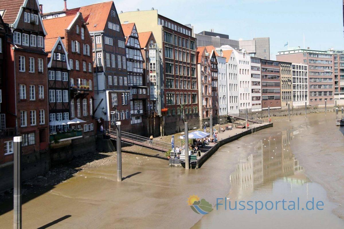Am rechten Ufer des Nikolaifleets wurde schon im Jahr 1198 ein neuer Hafenbereich entwickelt