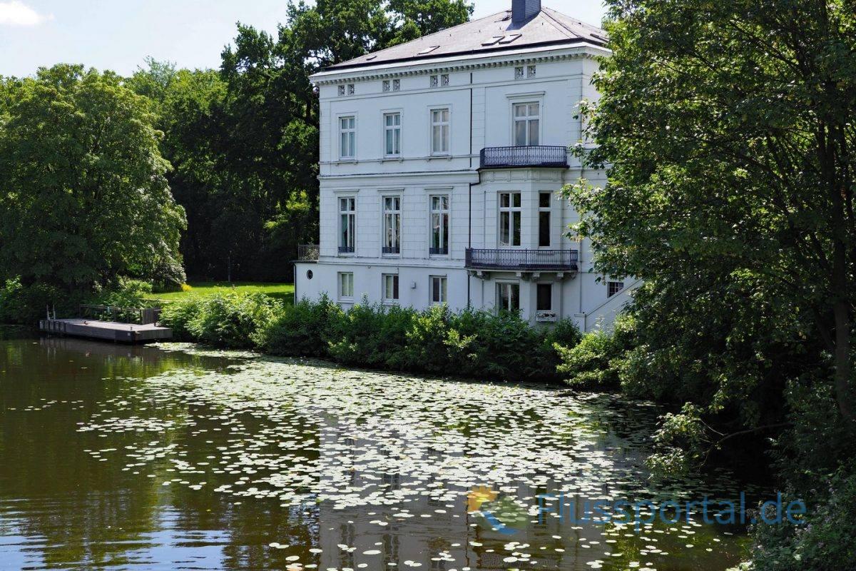 Das Gästehaus der Hamburger Senats an der Feenteichbrücke sah als ersten Gast Königin Elisabeth II.