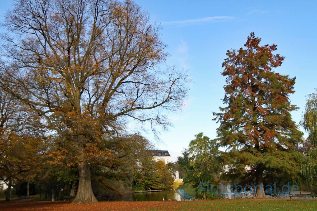 Im heute unscheinbaren Eichepark befand sich das Kloster Herwardeshude