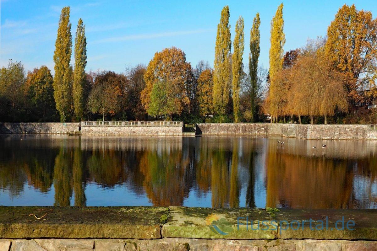 Das monumentale Becken der Alsterdorfer Kehre war eine Idee Alfred Lichtwarks