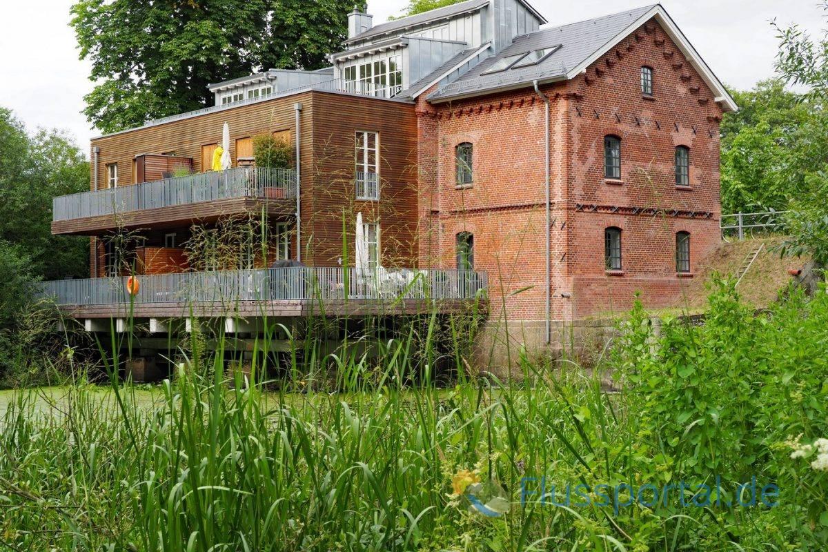 In der Ammersbeker Mühle wurde noch bis 1975 Korn gemahlen