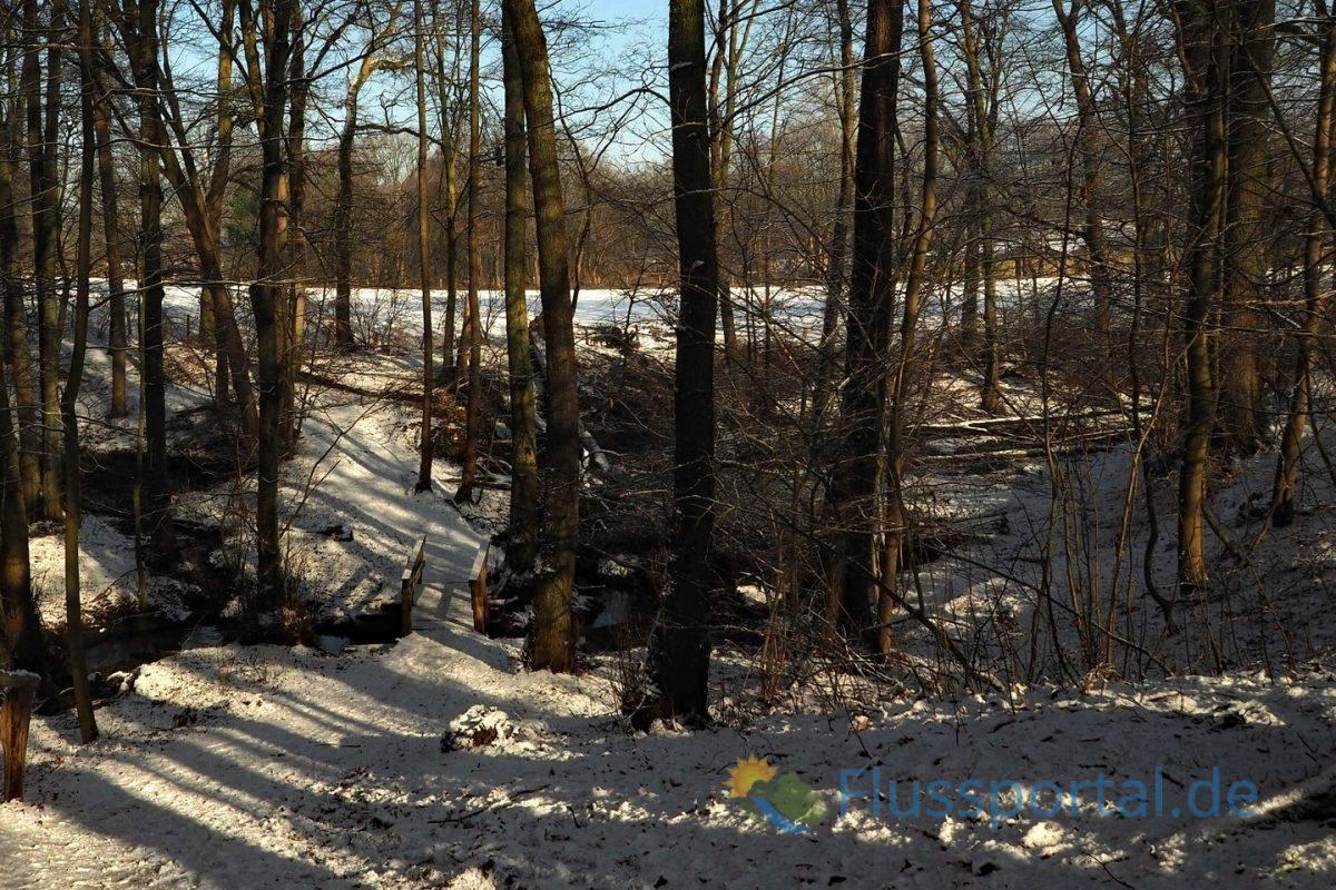 Der zweite Flussabschnitt der Alster entstand etwa am heutigen Zufluss der Saselbek